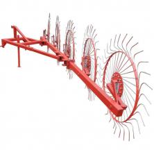 Грабли для трактор ворошилки 5 колесные Солнышко