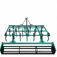 Пружинний культиватор суцільного обробітку КН-1,6П з катком до мінітрактора