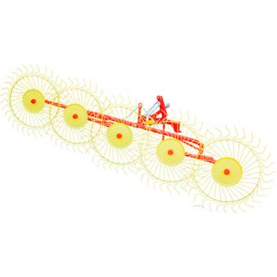 Грабли на трактор ворошилки Mokobody Z-510/1 5 колесные