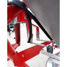 Розкидач міндобрив на трактор Jar-Met гідравлічниий (диск із нержавійки, лійка 500 л, 6 лопаток)