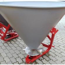 Розкидач міндобрив на трактор Jar-Met (диск із нержавійки, лійка 400 л пластик)