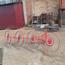 Граблі ворушилки Сонечко 4-колісні Шип