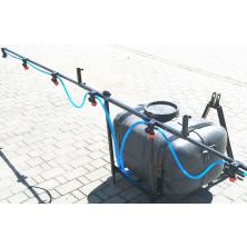 Обприскувач на мінітрактор 130 літрів 3 точки кріплення (штанга 4 метри)