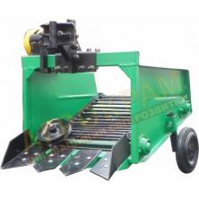 Транспортерная картофелекопалка КМТ-1 для мотоблока