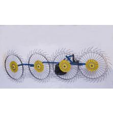 Грабли сеноворошители Солнышко для мотоблока 4 колесные