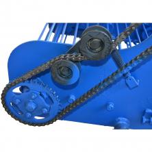 Картоплекопалка до мотоблока транспортерна КМ-6 (ремінний привод зліва)