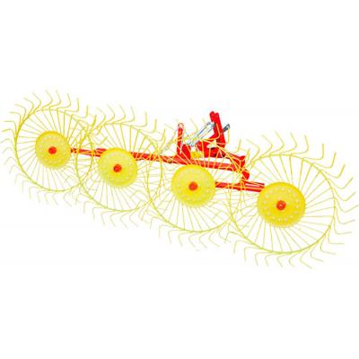 Грабли на трактор ворошилки Mokobody Z-510 4 колесные