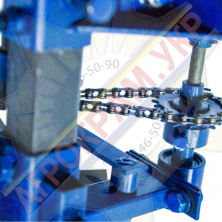 Саджалка ЧС3 (ЧСМ-3) 3-рядна для часнику на мотоблок