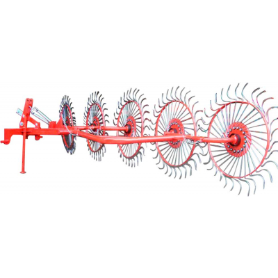 Граблі ворушилки польскі 5 колес