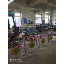 Грабли ворошилки на минитрактор Солнышко 4 колесные