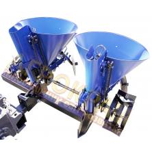 Картоплесаджалка з бункером для мінеральних добрив КС-19 до мототрактора