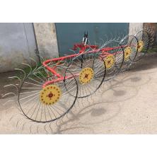 Грабли ворошилки к минитрактору, трактору Солнышко на 5 колес, спица 6 мм (ГСТ6-5)