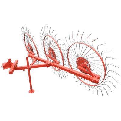 Грабли на мототрактор ворошилки Солнышко колесные