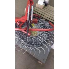 Грабли ворошилки на трактор, минитрактор Солнышко на 4 колеса, спица 6 мм (ГСТ6-4)