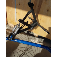 Грабли ворошилки для минитрактора Солнышко, спица 5 мм (ГСТ5)