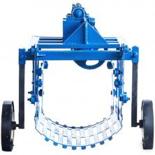 Картоплекопалка до мотоблока вібраційна КМ-3 під ВВП зі зменшувачем ходу