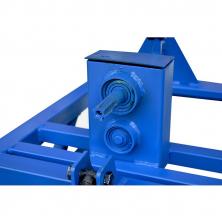 Картоплекопалка до мотоблока вібраційна КМ-3 під ВВП редукторна