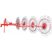 Граблі ворушилки польскі 4 колес