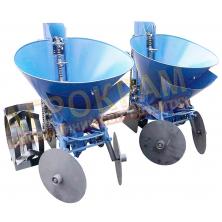 Картоплесаджалка з бункером для мінеральних добрив КС-20 до мототрактора