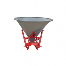 Розкидач мінеральних добрив на трактор Jar-Met (лійка 500 л пластик)