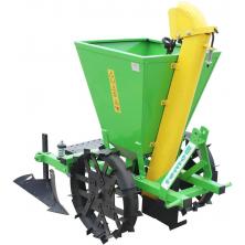 Двохрядна картоплесаджалка Бомет до трактора міжряддя 62 - 68 см