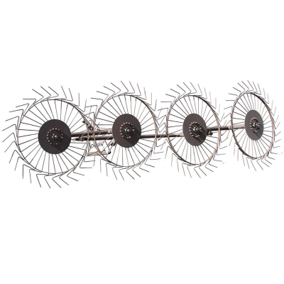 Граблі до мотоблока ворушилки Сонечко 4-колісні